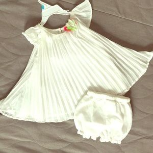 Nannette Toddler girl dress and matching shorts